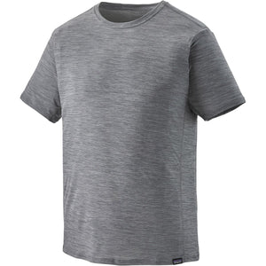 Patagonia Men's Capilene Cool Lightweight Shirt-45760_Forge Grey - Feather Grey X-Dye