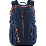 Patagonia Women's Refugio Pack 26L-48080_Classic Navy w/Mellow Melon