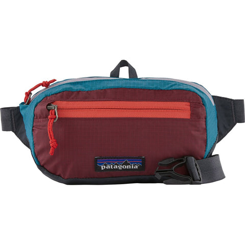 Patagonia Ultralight Black Hole Mini Hip Pack-49447_Patchwork: Roamer Red