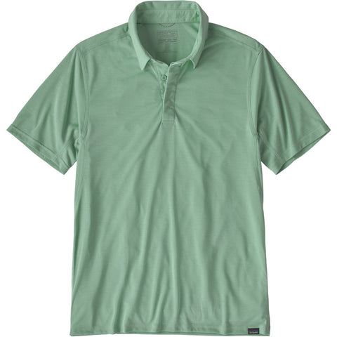 Patagonia Men's Capilene Cool Trail Polo-53160_Gypsum Green