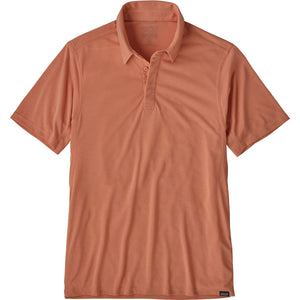 Patagonia Men's Capilene Cool Trail Polo-53160_Mellow Melon