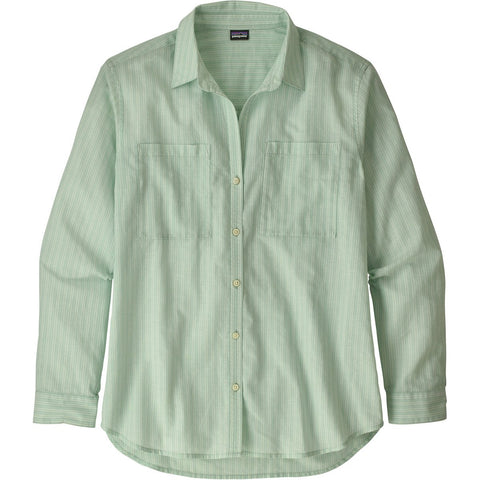 Patagonia Women's Lightweight A/C Buttondown-54296_Mellow Melon