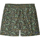 Patagonia Men's Baggies Shorts - 5 in.-57021_Alligators and Bullfrogs: Kale Green