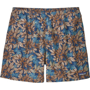 Patagonia Men's Baggies Shorts - 5 in.-57021_Hevea Leaves: Superior Blue