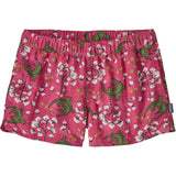 Patagonia Women's Barely Baggies Shorts-57043_Cotton Ball Gators: Ultra Pink