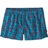 Patagonia Women's Barely Baggies Shorts-57043_Pollen Confetti: Dolomite Blue