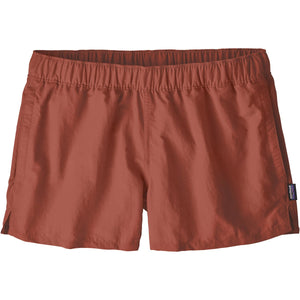 Patagonia Women's Barely Baggies Shorts-57043_Spanish Red