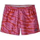 Patagonia Women's Baggies Shorts-57058_Eucalyptus Fronds: Catalan Coral