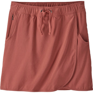 Patagonia Women's Fleetwith Skort-58635_Spanish Red
