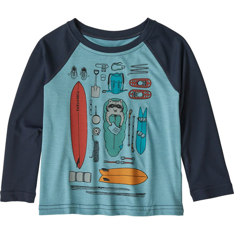 Patagonia Baby Capilene Cool Daily Crew-61245_Bandito Kit: Big Sky Blue X-Dye