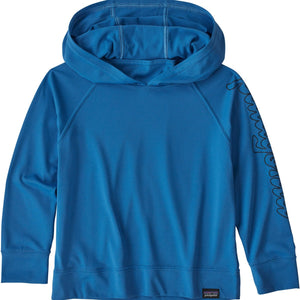 Patagonia Baby Capilene Cool Daily Sun Hoody-61255_Fitz Script: Bayou Blue
