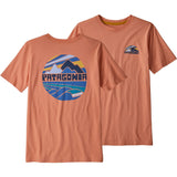 Patagonia Boys' Graphic Organic Cotton T-Shirt-62151_Fitz Roy Rights: Mellow Melon