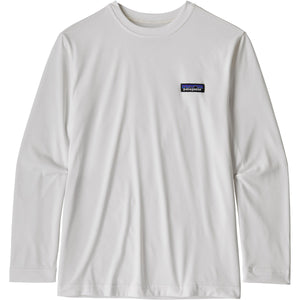 Patagonia Boys' Long-Sleeved Capilene Cool Daily T-Shirt-62395_P-6 Label: White