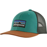Patagonia Kids Trucker Hat-66032_P-6 Logo: Light Beryl Green