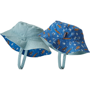 Patagonia Baby Sun Bucket Hat-66076_Fishies in the Swamp: Bayou Blue