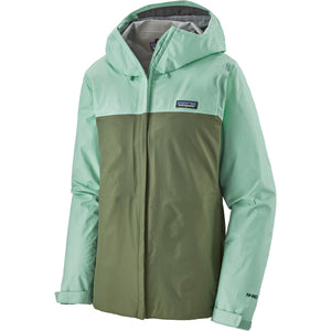 Patagonia Women's Torrentshell 3L Jacket-85245_Gypsum Green