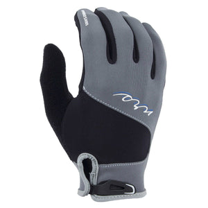 Women's Hydroskin Gloves-Northwest River Supplies-Gray/Black-XS-Uncle Dan's, Rock/Creek, and Gearhead Outfitters