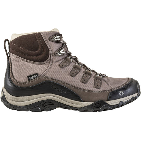 Women's Juniper Mid Waterproof-Oboz-Mocha-6-Uncle Dan's, Rock/Creek, and Gearhead Outfitters