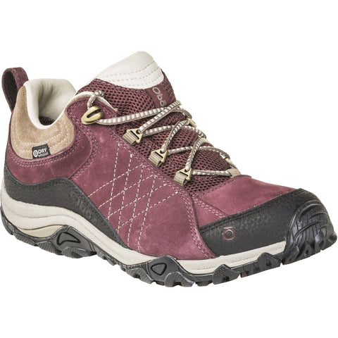 Women's Sapphire Low Waterproof-Oboz-Boysenberry-6-Uncle Dan's, Rock/Creek, and Gearhead Outfitters