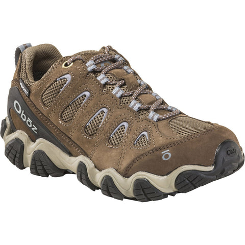 Women's Sawtooth II Low Waterproof-Oboz-Brindle / Tradewinds Blue-6-Uncle Dan's, Rock/Creek, and Gearhead Outfitters