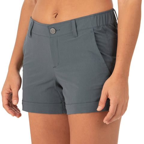 Free Fly Women's Utility Short-WUS_Blue Dusk