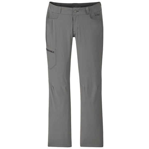 Women's Ferrosi Pants - Short-Outdoor Research-Pewter-0-Uncle Dan's, Rock/Creek, and Gearhead Outfitters