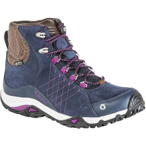 Women's Sapphire Mid Waterproof-Oboz-Huckleberry-6.5-Uncle Dan's, Rock/Creek, and Gearhead Outfitters