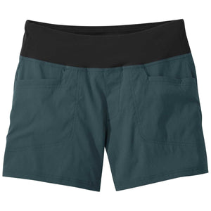 "Women's Zendo Shorts 5""-Outdoor Research-Mediterranean-XS-Uncle Dan's, Rock/Creek, and Gearhead Outfitters"