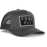 Free Fly Wave Snapback Trucker-SBW_Charcoal