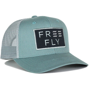 Free Fly Wave Snapback Trucker-SBW_Reef