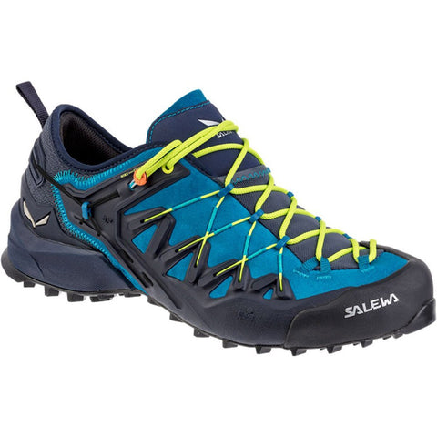 Men's Wildfire Edge-Salewa-Premium Navy Fluo Yellow-9-Uncle Dan's, Rock/Creek, and Gearhead Outfitters