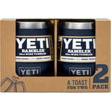 Rambler 10 oz Wine Tumbler 2 Pack-Yeti-Navy-Uncle Dan's, Rock/Creek, and Gearhead Outfitters