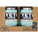 Rambler 10 oz Wine Tumbler 2 Pack-Yeti-Seafoam-Uncle Dan's, Rock/Creek, and Gearhead Outfitters