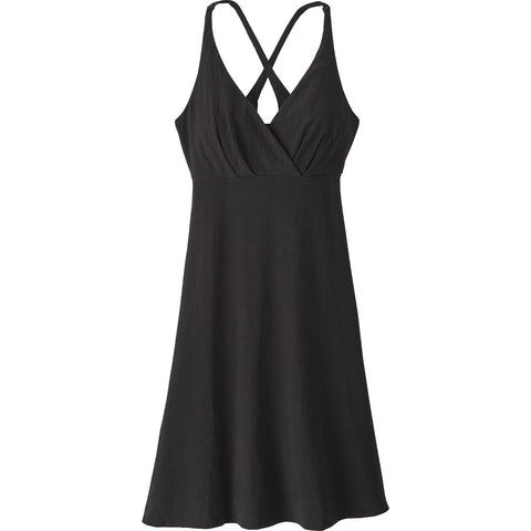 Women's Amber Dawn Dress-Patagonia-Black-L-Uncle Dan's, Rock/Creek, and Gearhead Outfitters