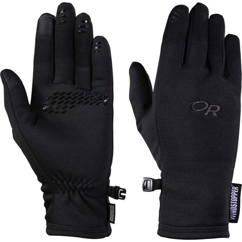 Women's Backstop Sensor Gloves-Outdoor Research-Black-S-Uncle Dan's, Rock/Creek, and Gearhead Outfitters