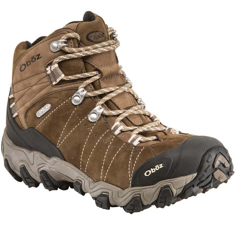 Women's Bridger Mid Waterproof Hiking Boot-Oboz-Walnut-6-Uncle Dan's, Rock/Creek, and Gearhead Outfitters