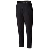 Women's Dynama Ankle Pant-Mountain Hardwear-Black-L-Uncle Dan's, Rock/Creek, and Gearhead Outfitters