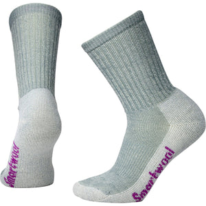 Women's Hike Light Crew Socks-Smartwool-Light Gray-S-Uncle Dan's, Rock/Creek, and Gearhead Outfitters