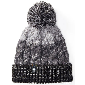 Women's Isto Retro Beanie-Smartwool-Black/Medium Gray Heather-Uncle Dan's, Rock/Creek, and Gearhead Outfitters