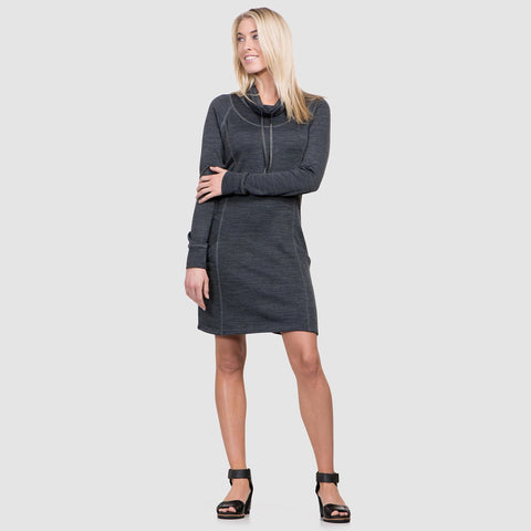 Women's Lea Dress-KUHL-Carbon-XS-Uncle Dan's, Rock/Creek, and Gearhead Outfitters