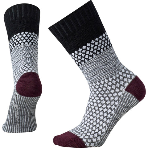 Women's Popcorn Cable Socks