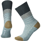 Women's Popcorn Cable Socks-Smartwool-Lochness Heather-L-Uncle Dan's, Rock/Creek, and Gearhead Outfitters