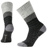 Women's Popcorn Cable Socks-Smartwool-Winter White Don-L-Uncle Dan's, Rock/Creek, and Gearhead Outfitters