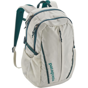 Women's Refugio Pack 26L-Patagonia-Birch White w/Tidal Teal-Uncle Dan's, Rock/Creek, and Gearhead Outfitters