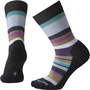 Women's Saturnsphere Socks-Smartwool-Black Meadow Mauve-L-Uncle Dan's, Rock/Creek, and Gearhead Outfitters