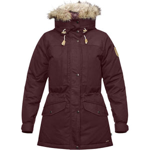 Women's Singi Down Jacket-Fjallraven-Dark Garnet-L-Uncle Dan's, Rock/Creek, and Gearhead Outfitters