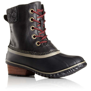 Women's Slimpack II Lace Boot-Sorel-Black-6.5-Uncle Dan's, Rock/Creek, and Gearhead Outfitters