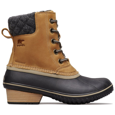 Women's Slimpack II Lace Boot-Sorel-Elk Black-6-Uncle Dan's, Rock/Creek, and Gearhead Outfitters