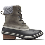 Women's Slimpack II Lace Boot-Sorel-Quarry Black-6.5-Uncle Dan's, Rock/Creek, and Gearhead Outfitters