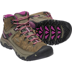 Women's Targhee III Waterproof Mid Hiking Boot-KEEN-Weiss Boysenberry-10-Uncle Dan's, Rock/Creek, and Gearhead Outfitters